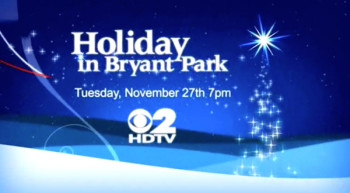 Holiday in Bryant Park