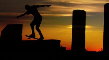 Skateboarding Montage